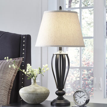 Picture of Mildred Metal Table Lamp Set