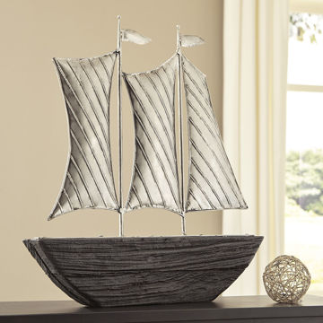 Picture of Myla Sailboat Sculpture