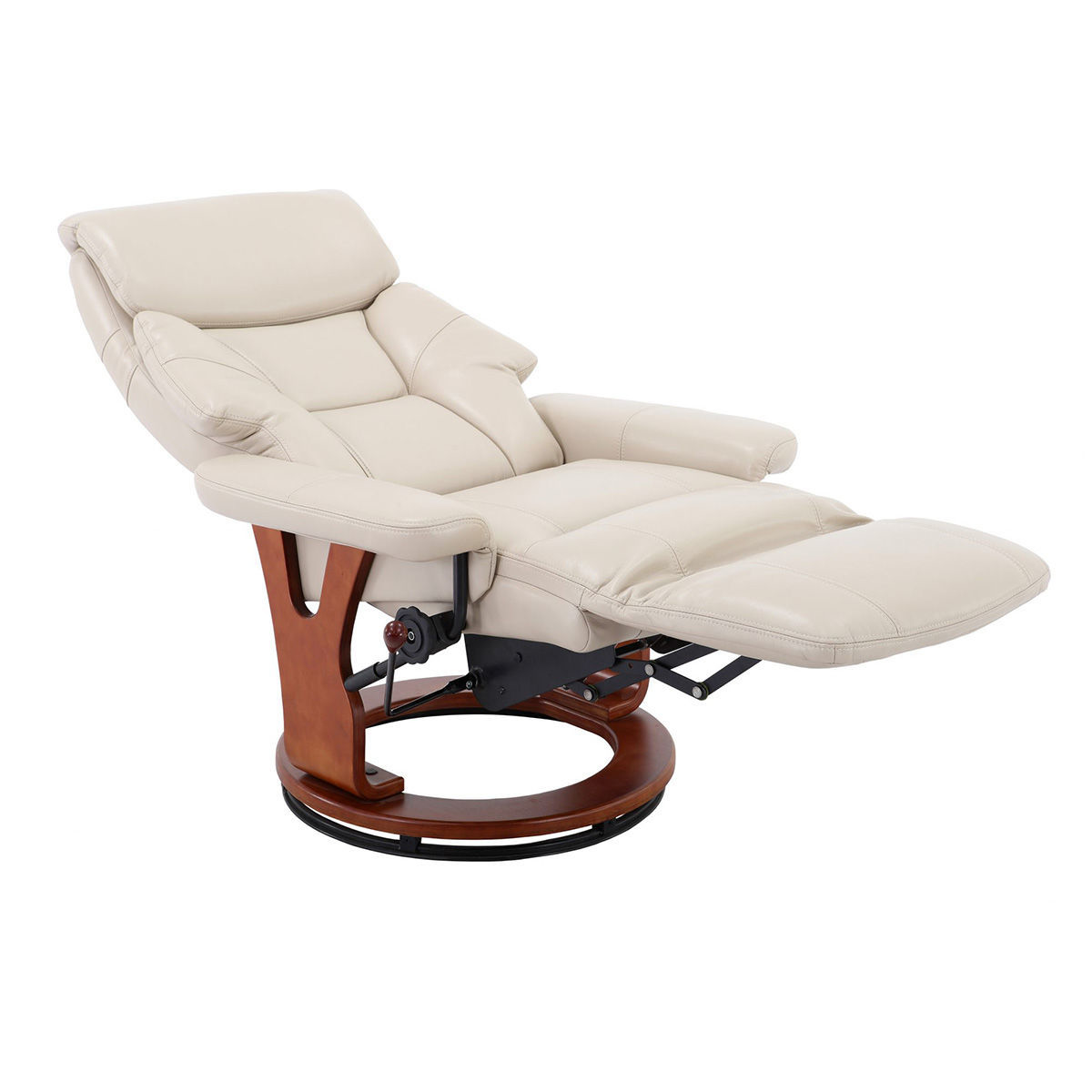 Picture of Bismark Recliner in Cobblestone Air Leather