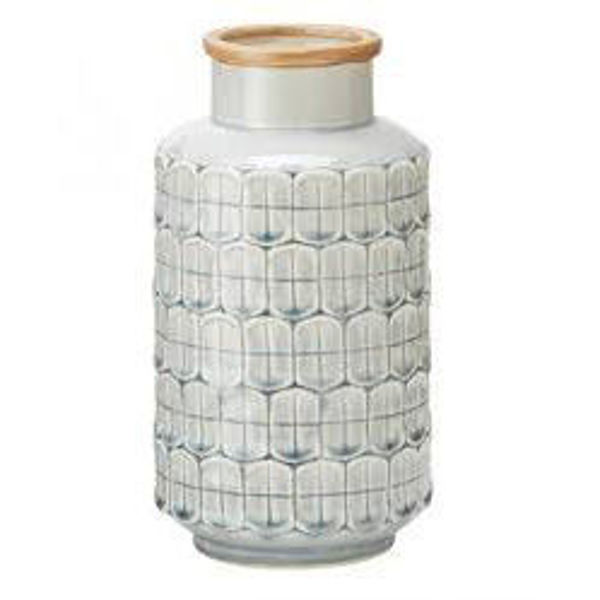 Picture of Modernist Decorative Vase in Grey Ceramic