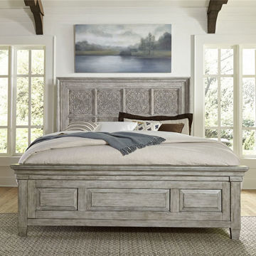 Picture of Piazza Tile Queen Panel Bed