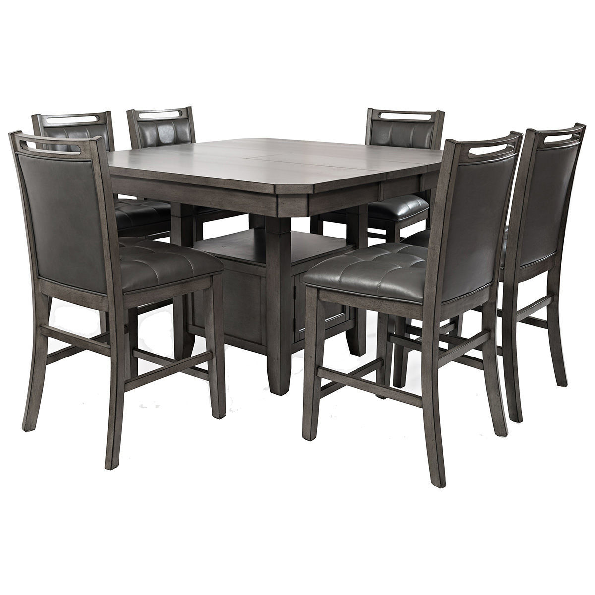 Manchester 7 Piece Counter Height Dining Set