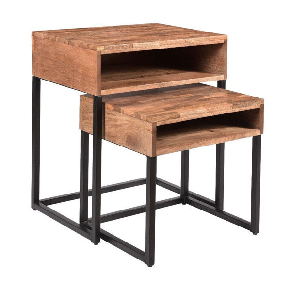 Picture of Set of Two Nesting Tables