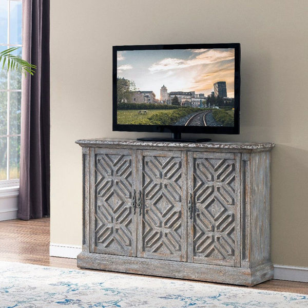 Picture of Three Door Media Credenza