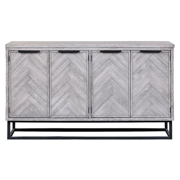 Picture of Aspen Court II Four Door Media Credenza
