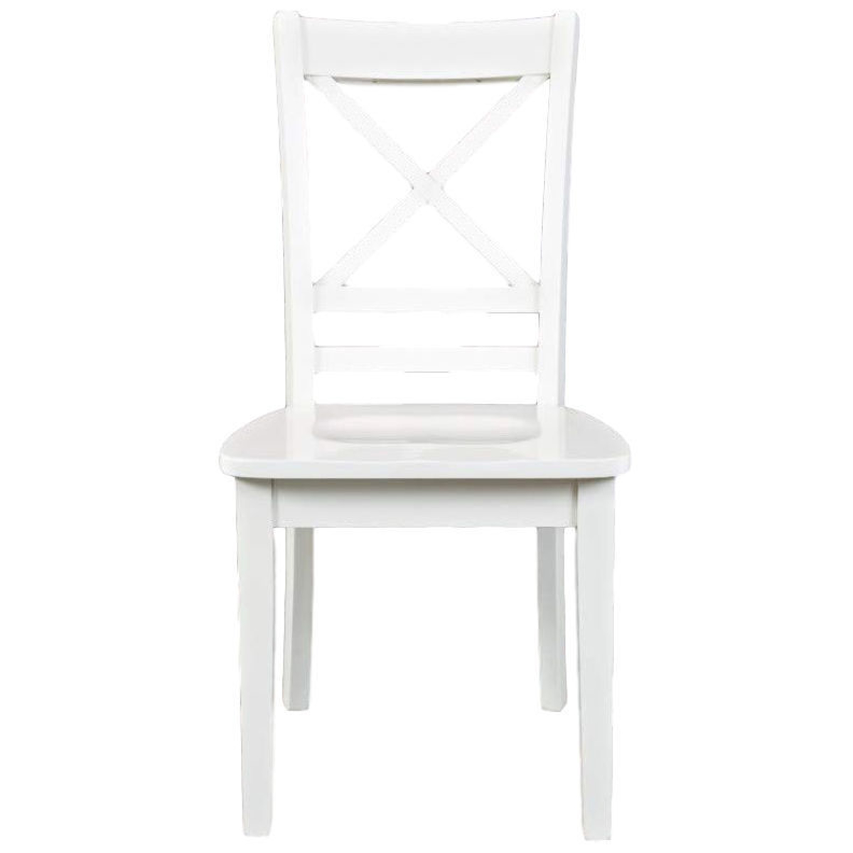 Picture of Simplicity X Back Paperwhite Dining Chair
