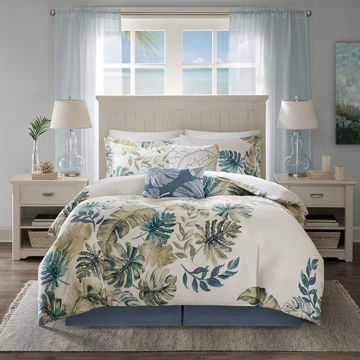 Picture of Lorelai Cotton Printed 6 Piece Comforter Set