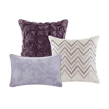 Picture of Luna 6 Piece Reversible Coverlet Set