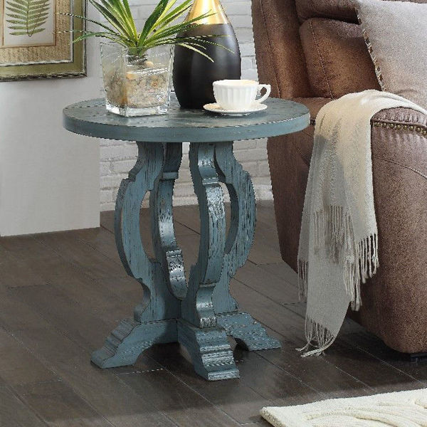 Picture of Orchard Park Blue Accent Table