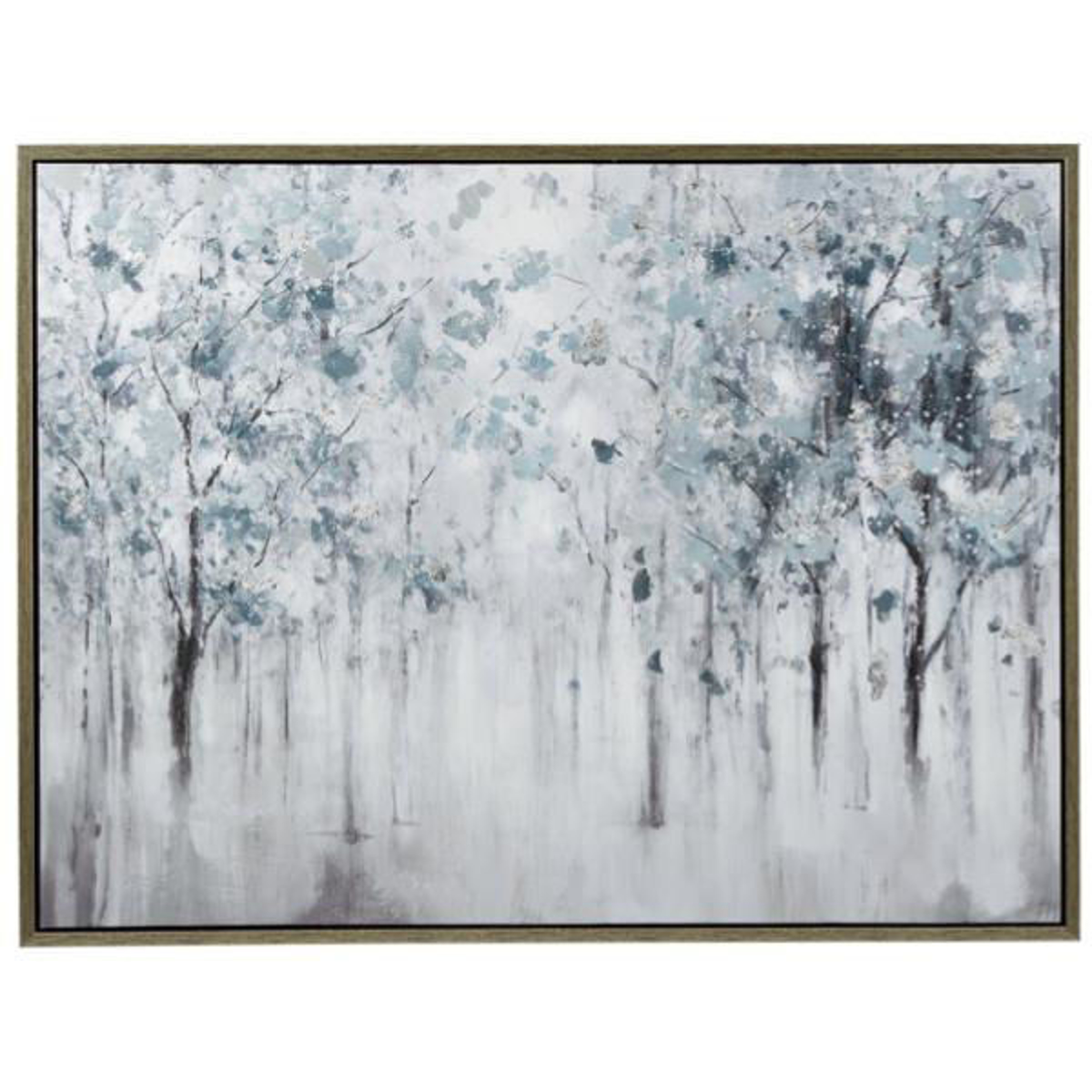 Picture of Brecklin Blue / Gray Tree Landscape