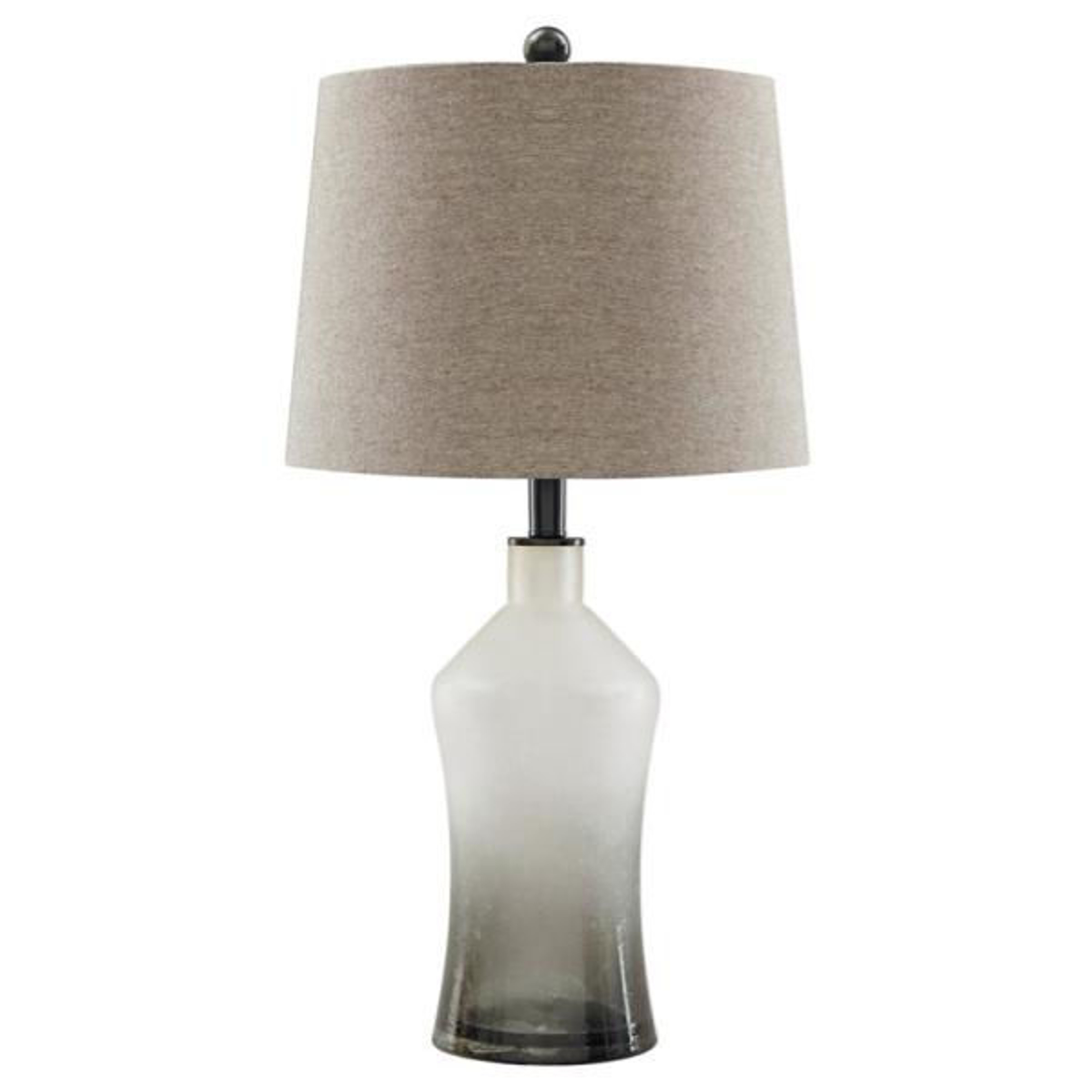 Picture of Noliie Gray Glass Table Lamp Set