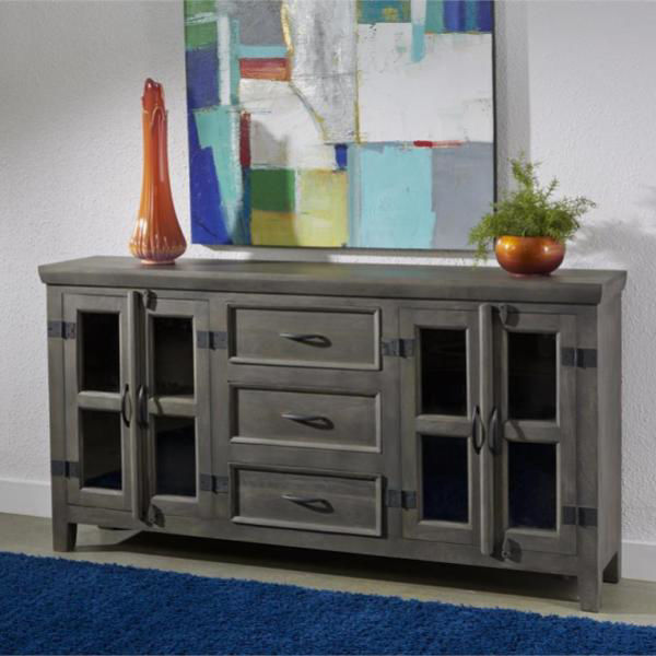 Picture of Four Door Three Drawer Media Credenza