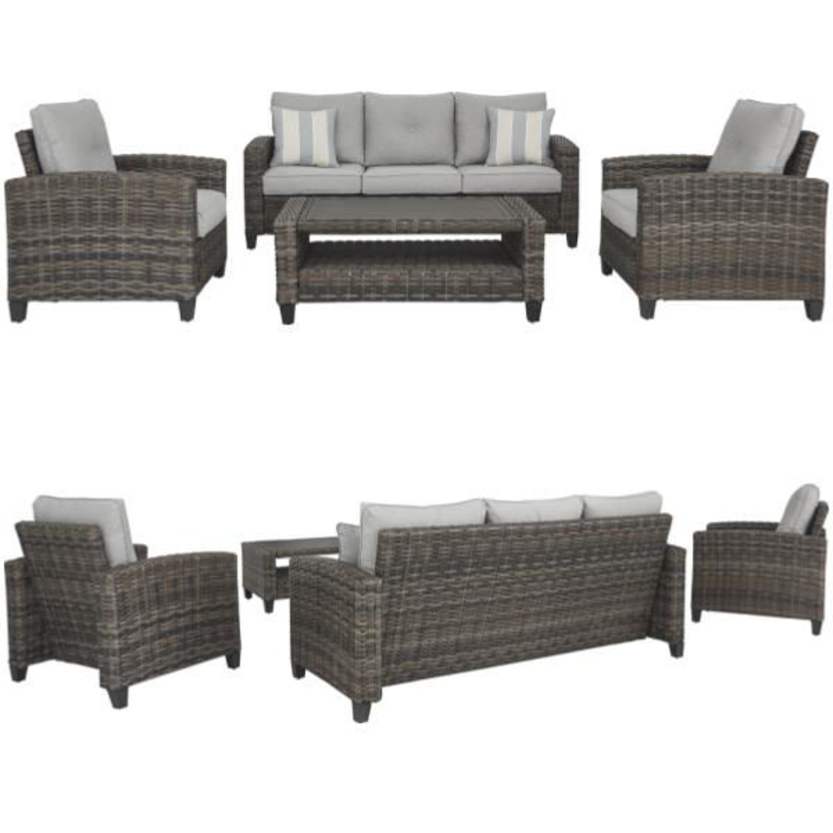 Picture of ROSEMARY SOFA/CHAIRS/TABLE SET