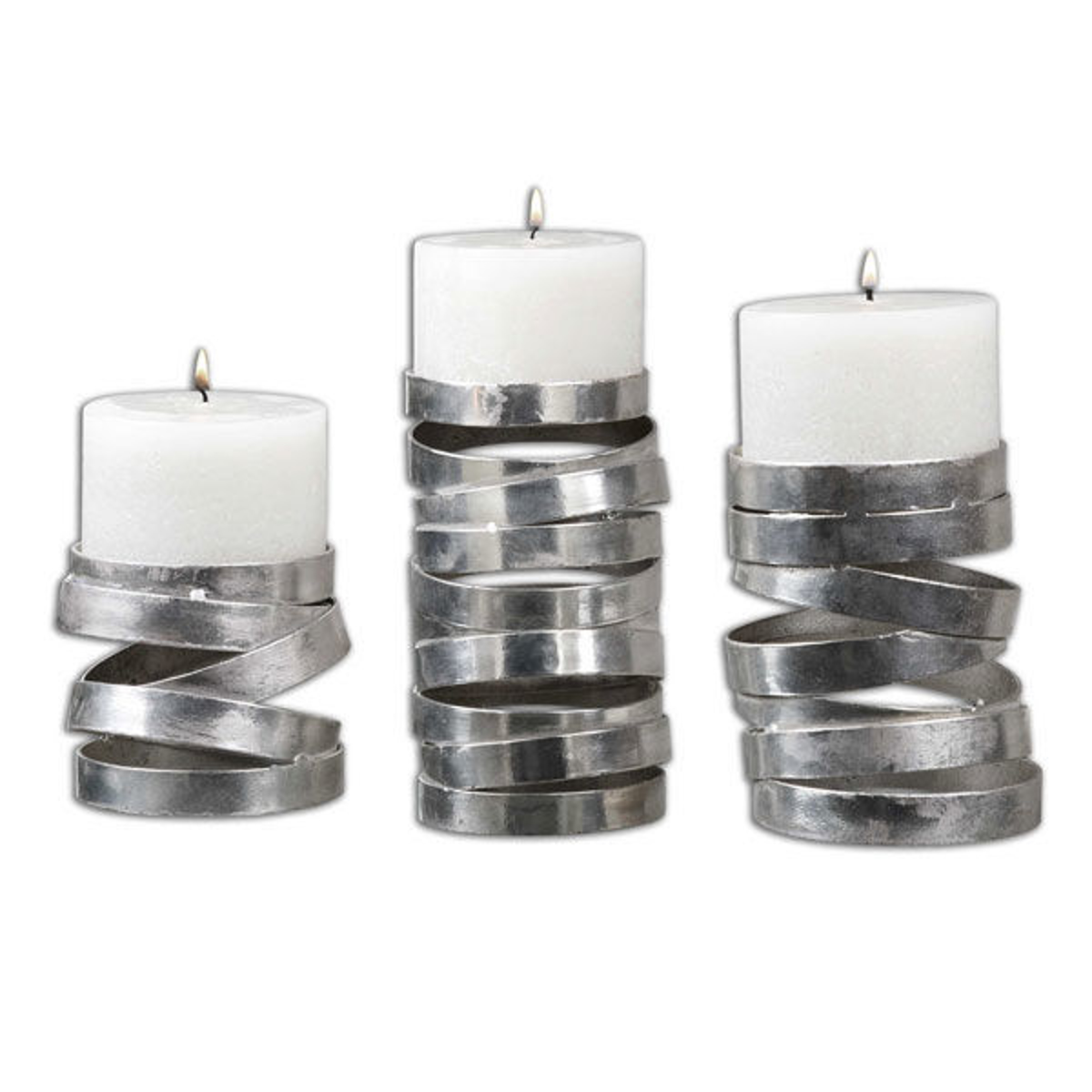 Picture of TAMAKI CANDLE HOLDERS S/3