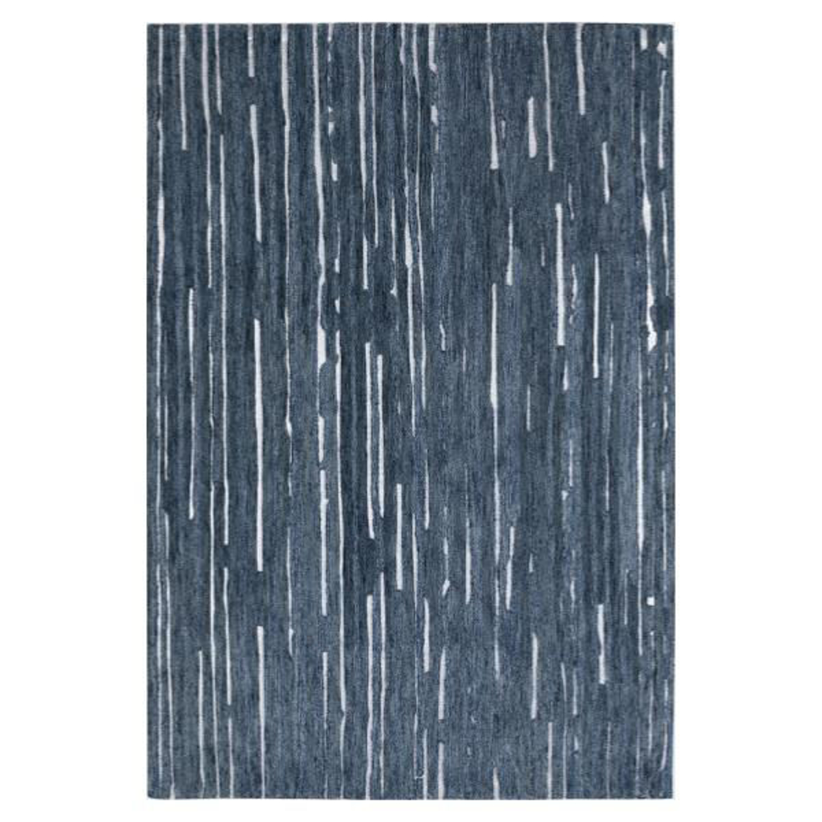"""Picture of VIBES 1 NAVY 5' X 7'6"""" RUG"""