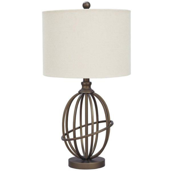 Picture of MANASA BRONZE METAL TABLE LAMP