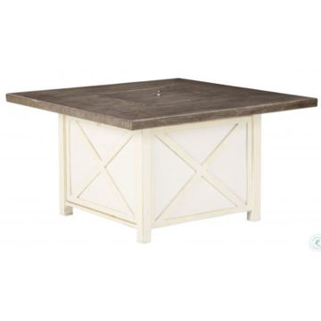 """Picture of PENSACOLA 47"""" SQ FIRE PIT TABL"""