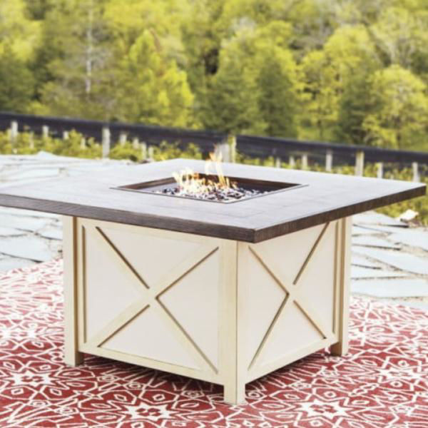 "Picture of PENSACOLA 47"" SQ FIRE PIT TABL"
