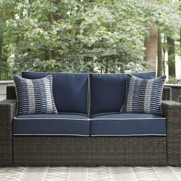 Picture of SEASIDE LOVESEAT W/CUSHION