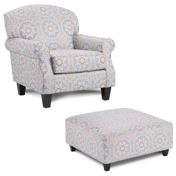 Picture of PERKINS CHAIR W/PATTERN