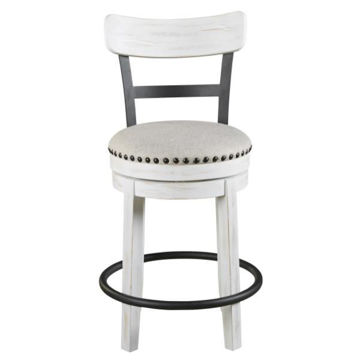 Picture of VALEBECK UPH SWIVEL BARSTOOL