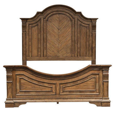 Picture of NOVA QUEEN PANEL BED