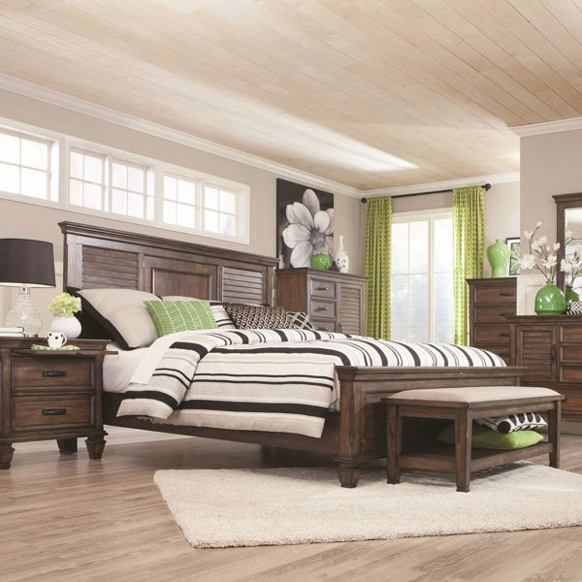 Picture of Nassau Panel Bed