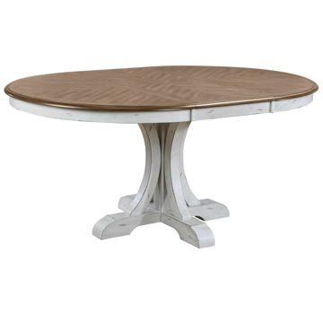 "Picture of HIGHLINE 66"" PEDESTAL TABLE"