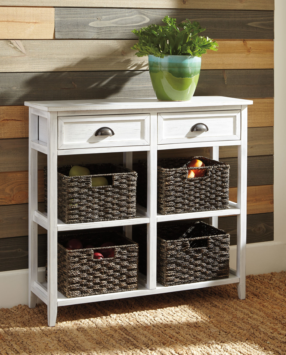 Picture of OSLEMBER CONSOLE TABLE W/BASKE