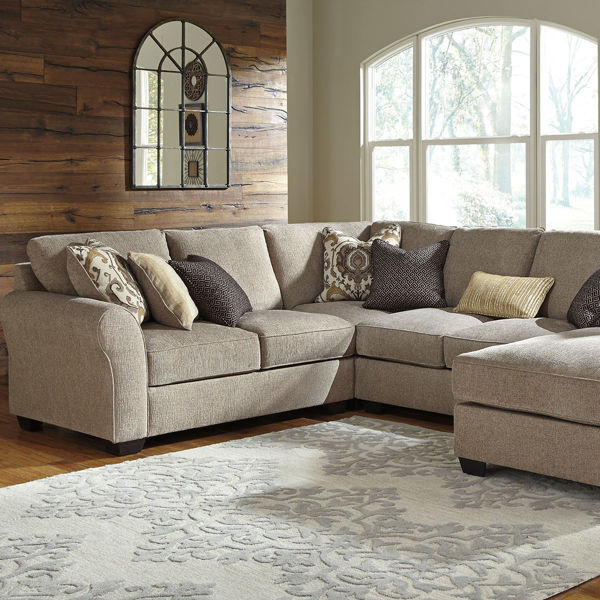 Picture of ROMAN 4 PC CHAISE SECTIONAL