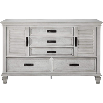 Picture of Nassau Antique White Dresser