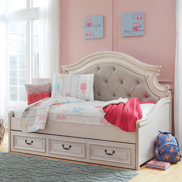 Picture of ROSLYN UPHOLSTERED TWIN DAYBED W/STORAGE