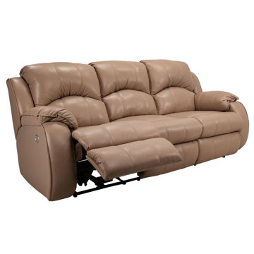 Picture of Bradington Leather Power Sofa