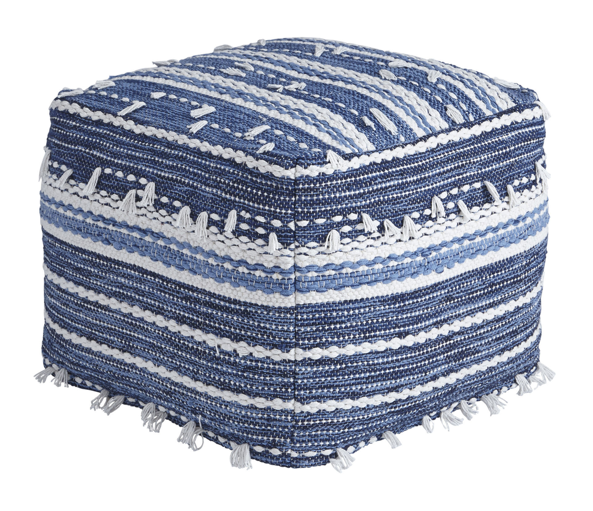 Picture of ANTHONY BLUE POUF