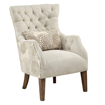 Picture of BRAUN ACCENT CHAIR W/PILLOW