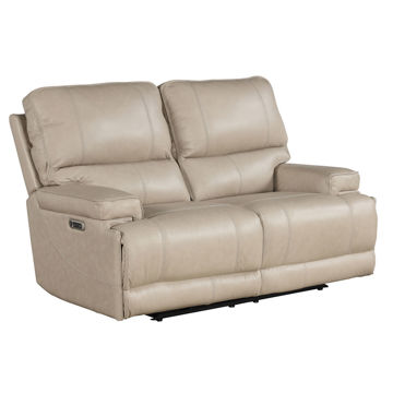 Picture of WHISTLER CORDLESS LOVE W/ POWER HEADREST IN LINEN