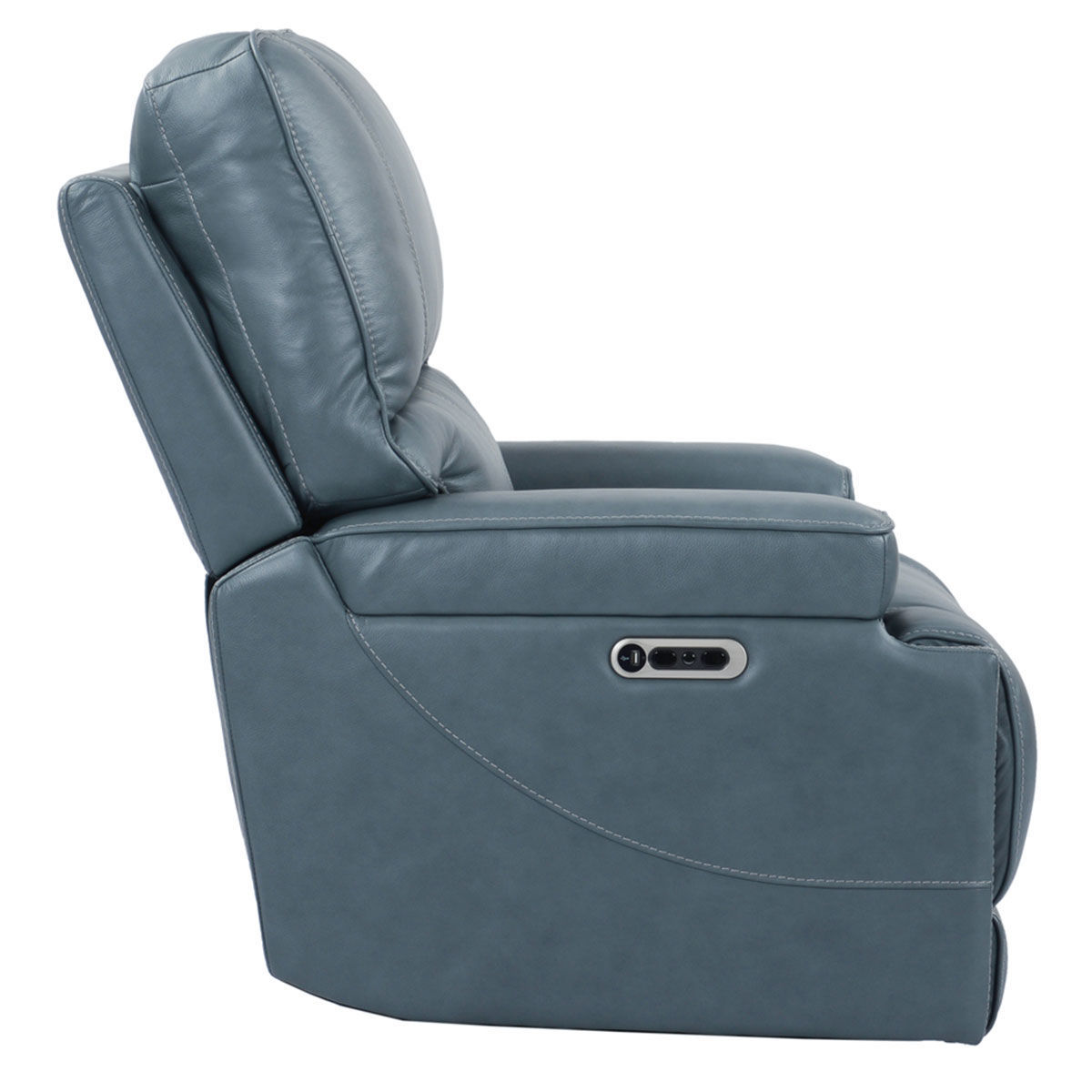 Picture of WHISTLER CORDLESS RECLINER W/ POWER HEADREST IN AZURE