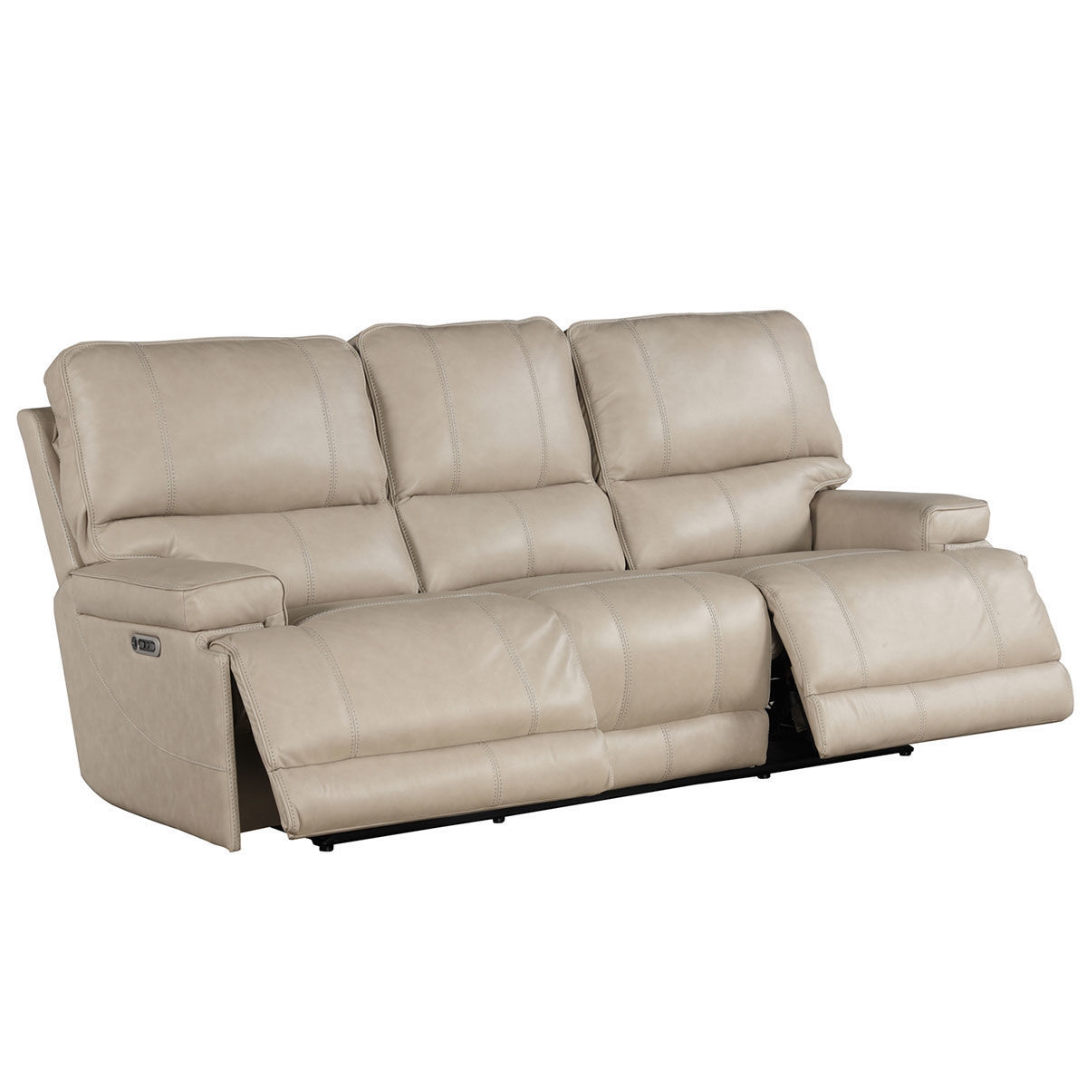 Picture of WHISTLER CORDLESS SOFA W/ POWER HEADREST IN LINEN