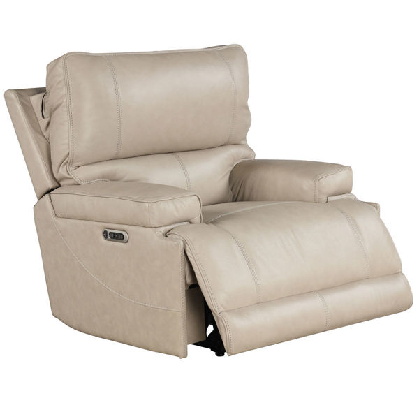 Picture of WHISTLER CORDLESS RECLINER W/ POWER HEADREST IN LINEN