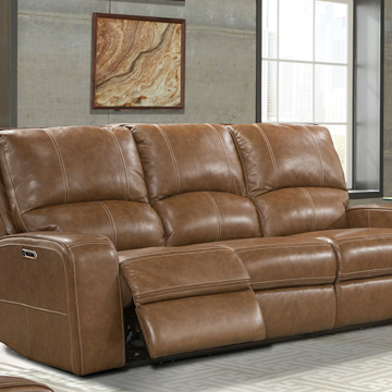 Picture of TAYLOR LEATHER SOFA W/ POWER HEADREST