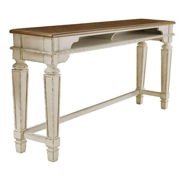 Picture of ROSLYN CONSOLE TBL FOR STOOLS