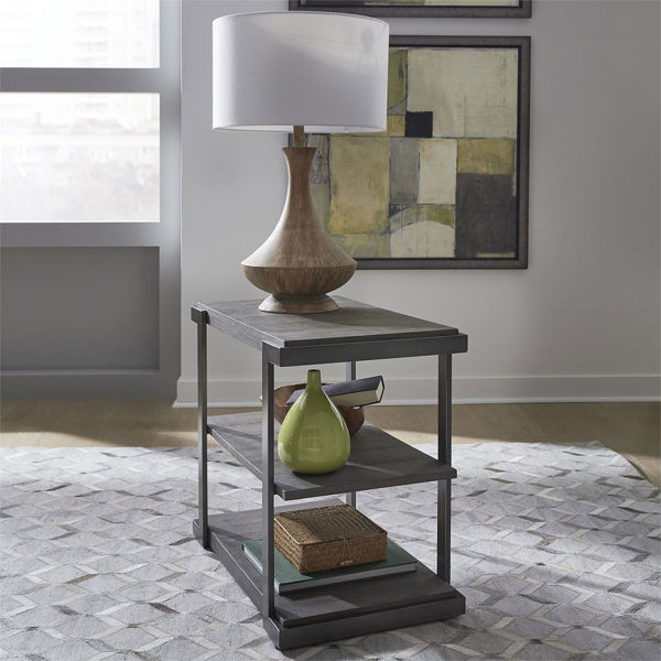 Picture of CALABASAS TIERED END TABLE
