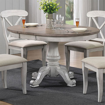 Picture of MARTHA WHITE PEDESTAL TABLE/BASE