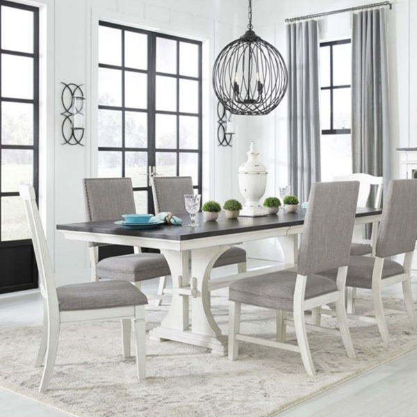 Picture of BRUSSELS 7PC RECTANGULAR DINING SET