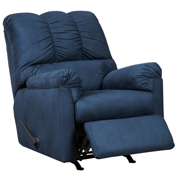 Picture of AUSTIN NAVY ROCKER RECLINER