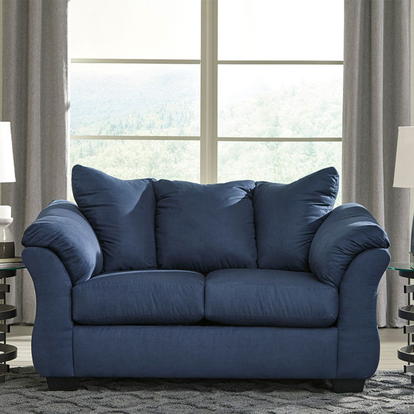 Picture of AUSTIN NAVY LOVESEAT