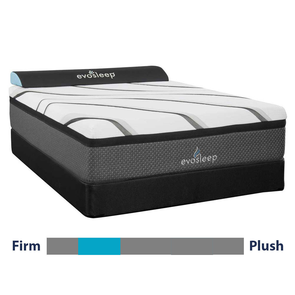 """Picture of PURITY 2 10"""" HYBRID FULL MATTRESS"""