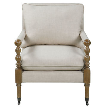 Picture of ACCENT CHAIR (BEIGE)