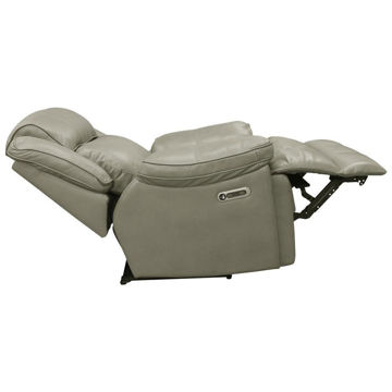 Picture of ECLIPSED LEATHER RECLINER W/ POWER HEADREST