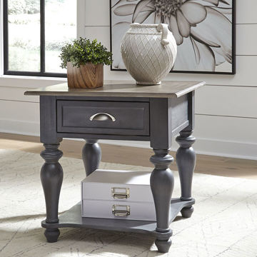 Picture of MARTHA GREY END TABLE